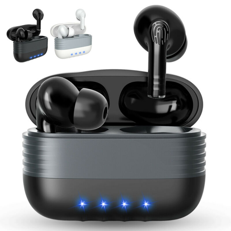 Bluetooth Earbuds for iPhone Samsung Android Wireless Earphone WaterProof IPX7