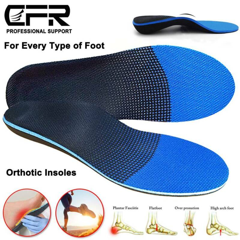Orthotic Shoe Insoles Arch Support Unisex Relieve Metatarsal