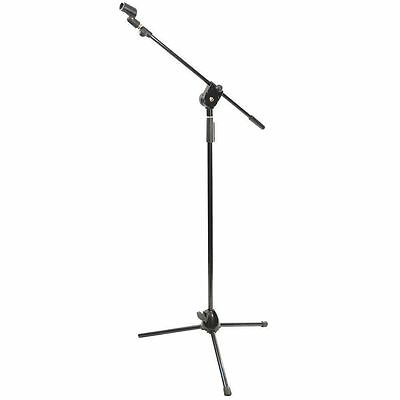 NEW Pyle PMKS3 Tripod Microphone Stand W/ Extending Boom - Height Adjustable