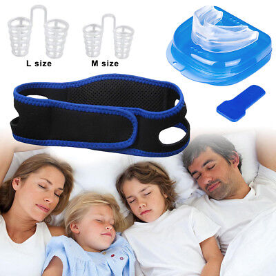 Best Anti Snoring Snore Device Breathable Chin Strap Mouth Guard Nasal (Best Anti Snoring Chin Strap)