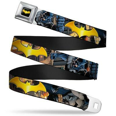 Batman Belt For Kids (Seat Belt Buckle for Pants Men Women Kids DC Comics Batman)