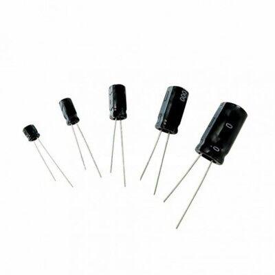 5 X 680uf Aluminum Electrolytic Capacitor Radial Lead Cap 50 V 680 Uf 20 50v