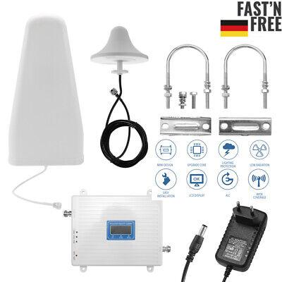 Handy Signalverstärker Tri-Band 900 1800 2100 2G/3G/4G LTE Booster Repeater DE ()