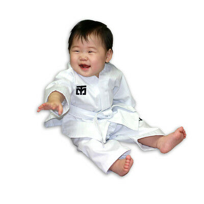 Mooto First Birthday Uniform [White] Taekwondo Korea Dol Dobok WTF KTA TKD