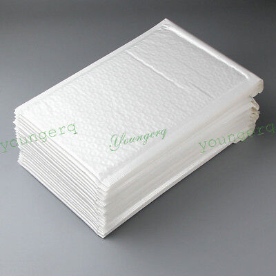 1005010 Poly Bubble Mailers Padded Envelopes 15 Sizes 4x8 6x10 6x9 8.5x11 4x6
