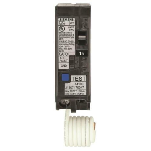 Siemens 15 Amp 1 in. Single-Pole Combination AFCI Circuit Breaker US2:QA115AFCP