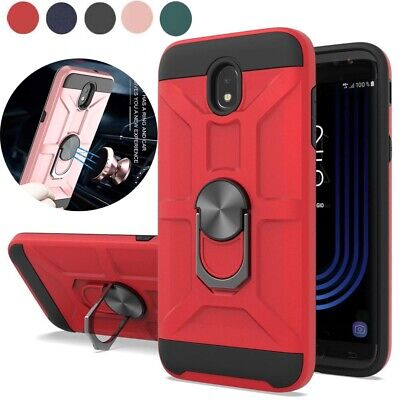 For Samsung Galaxy J7 2018/Refine/ /Star/Top/ Crown Phone Case With Ring Holder