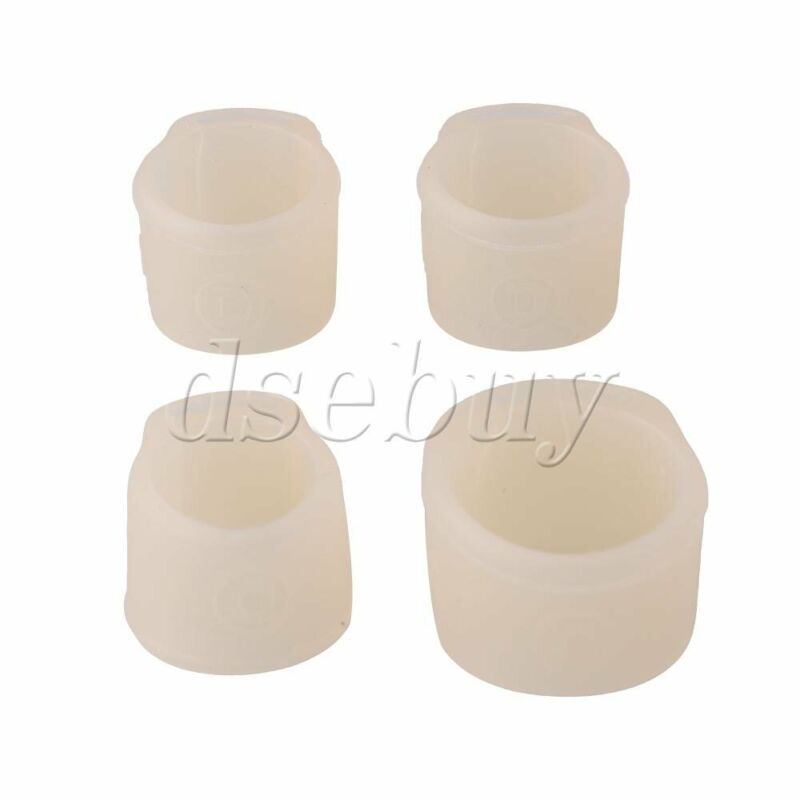 Silicone Guzheng Nail Guards for Playing Guzheng Right Hand M Set of 4