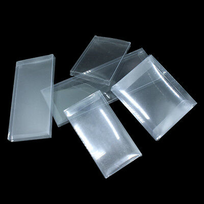 Pvc Clear Plastic Packaging Box Foldable Small Gift Wedding Favor Packing Boxes