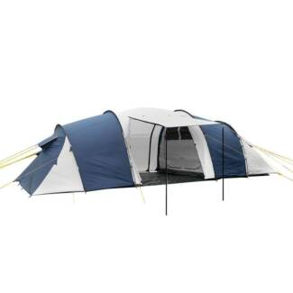 AUS FREE DEL-12 Person Family Outdoor Camping Dome Tent Navy Grey