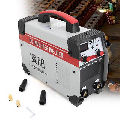 Stick Welding Mma Machine Zx7-315 110-560v Ac Arc Inverter Welder 8000w Us Stock
