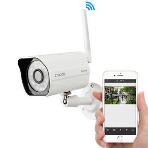 Zmodo 720P HD Wireless WiFi Outdoor IP Network CCTV Home Security Camera DIY