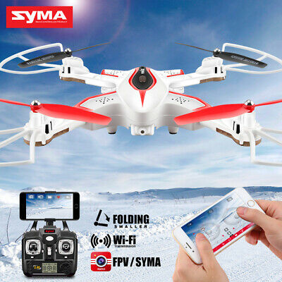 SYMA X56W Foldable WIFI FPV HD Camera RC Quadcopter Drone  Helicopter Toys Gift