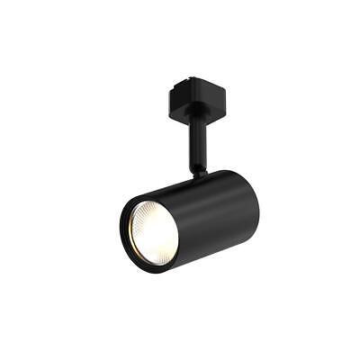 Hampton Bay 1 Light Flexible Track LED Light Head in Black 1002 636 976 Flexible Track Lighting Head