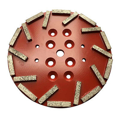 2 Pack 10 2530 Diamond Grinding Plate For Edco Blastrac Floor Grinders