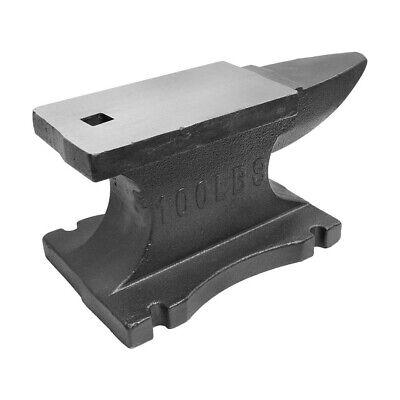 100 Lbs Heavy Duty Cast Iron Anvil Blacksmith Long Horn Hardy Hole