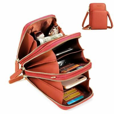Functional Cell - Crossbody Cell Phone Shoulder Bag - Multi-functional Bag For Women Wallet Summer
