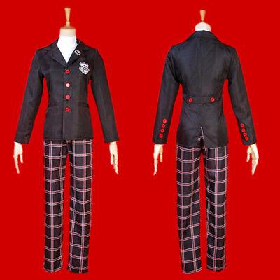 Joker Cosplay Costume (Persona 5 Hero Joker Ren Amamiya Cosplay Costume Full Set Jacket Pants)