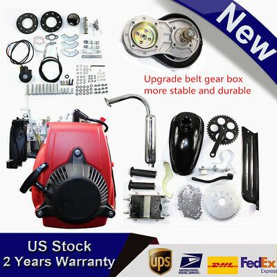 Bike Engine Motor Kit 4-Stroke 49CC Gas Petrol Motorized Bicycle Scooter New