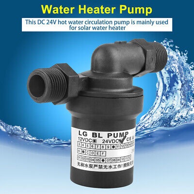 1pc Dc24v 18w Hot Water Pump For Solar Water Heater Hot Circulation
