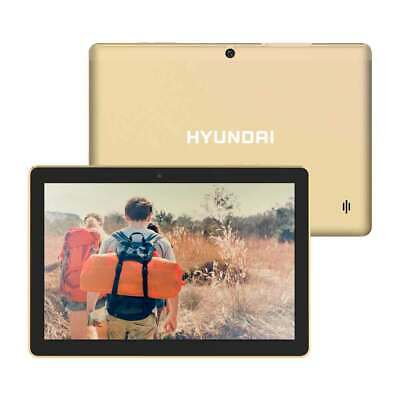 "Hyundai Koral 10"" Tablet 10X3 2GB 32GB 2MP/5MP Wifi Android 9.0 Gold"