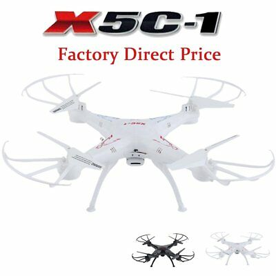 X5C-1 Explorers 2.4Ghz 4CH 6-Axis Gyro RC Quadcopter Drone w/ HD Camera RTF BT