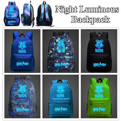 School Bag Night Luminous Printing Harry Potter Hot Game Backpack For - Games For School