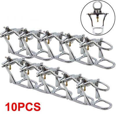 10pc Dental Lab Articulator Chrome Low Arch Adjustable Denture Dentist Supply
