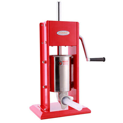 New Hakka 3l Sausage Stuffer Maker Vertical Stainless Steel Meat Filler Machine