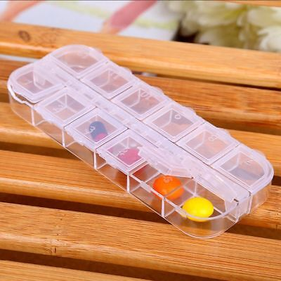 Rhinestones Beads Storage Plastic Nail Art Set Box Holder Organizer - Bead Holder