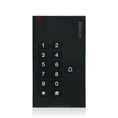 Sebury Q3 Door Access Controller 125KHz EM RFID Card Tag Password Keypad Bell