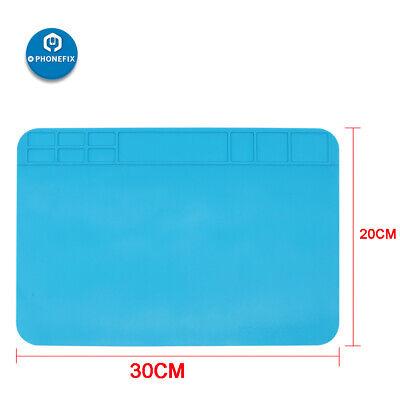 Anti Static Heat Insulation Silicon Pad Desk Solder Work Mat Tablet Phone Repair