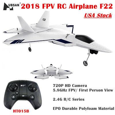Hubsan FPV RC Airplane F22 2.4G 4CH 310mm Wingspan EPO Drone W/ 720P GPS RTF