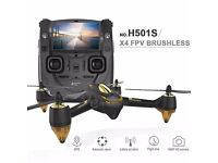 Hubsan x4 h501s quadcopter with brushless motor 1080p camera GPS headlesss mode follow me alt hold
