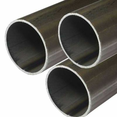 E.r.w. Steel Round Tube 0.500 12 Inch Od 0.049 Inch Wall 48 Inches 3 Pack