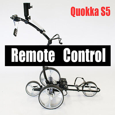 Quokka S5 Lithium battery remote control electric motorized golf buggy cart 2017