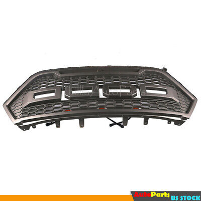 For 2015 2018 Ford Edge Front Bumper Upper Grill RP Style Grille Sport Version