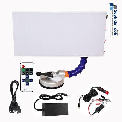 LED Ausbeullampe mit Vakuum Saugfuß Delenlampe Fixierlampe + Dimmer - 12V / 230V gebraucht kaufen  Nagold