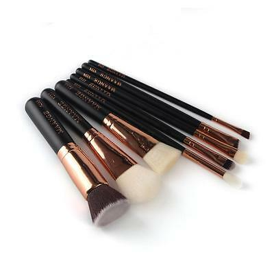 8Pcs Makeup Brushes Set Powder Foundation Eyeshadow Eyeliner Cosmetic Brush Tool
