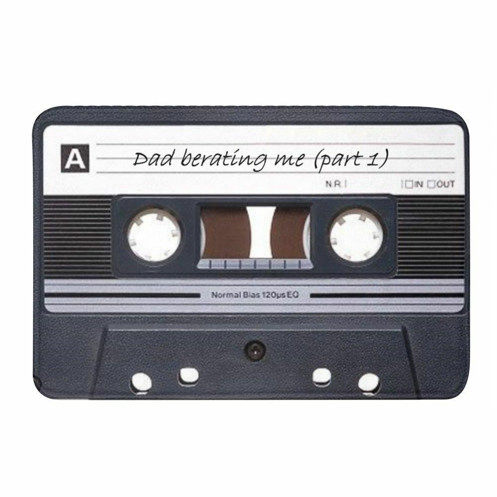 Cassette Tape Print Absorbent Memory Foam Bathmat Non Slip Bathroom Carpets Rugs