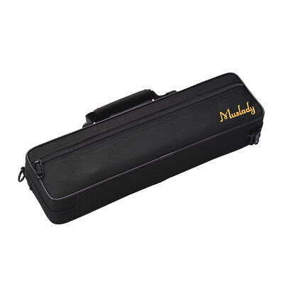 D DOLITY Weather-resistant Clarinet Soprano Saxophone Case Electronic Torch Gig Bag Padded Artificial Leather Brown