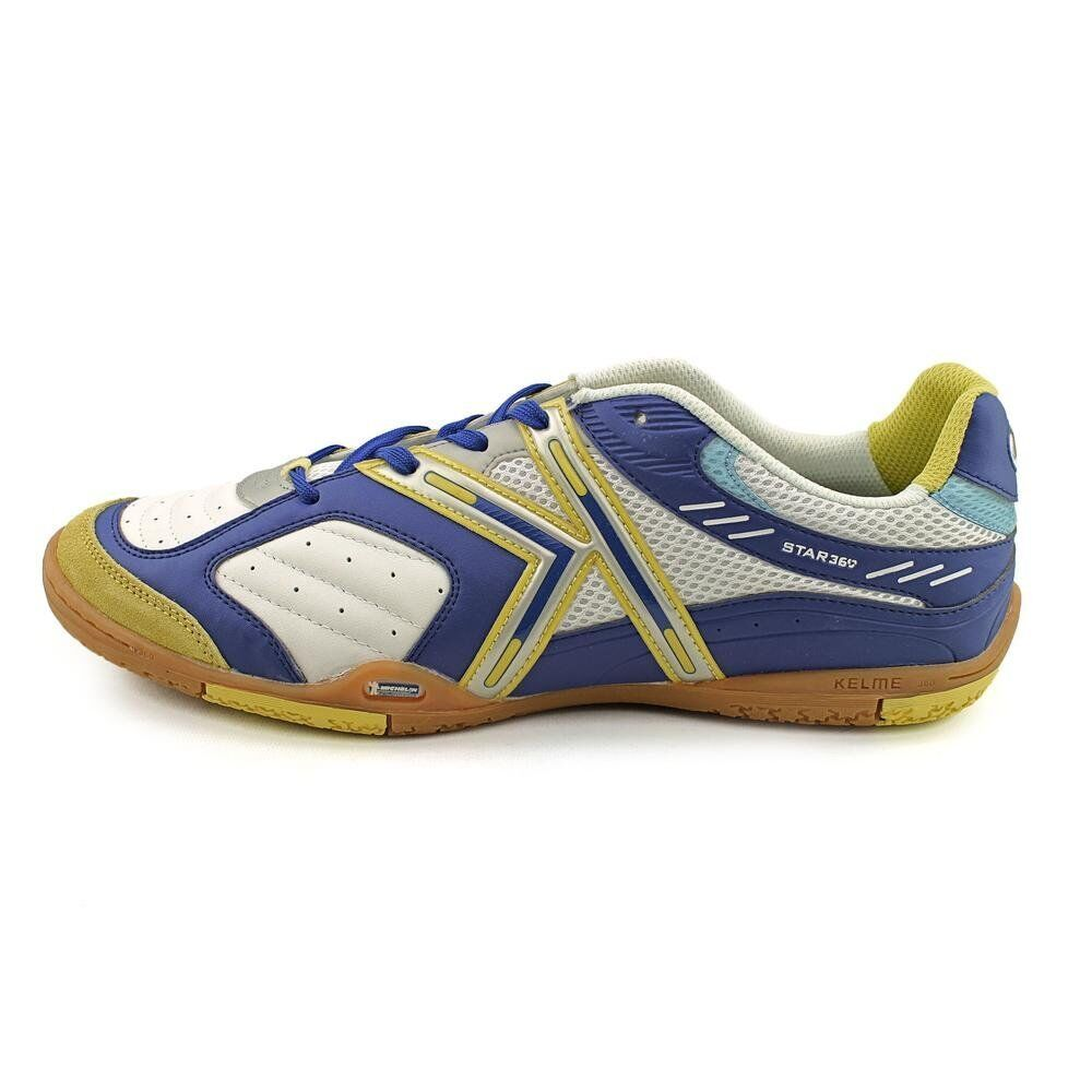 Royal Kelme Star 360 Michelin Mens Leather Indoor Soccer Shoes White