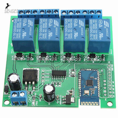 12v 48-ch Bluetooth Relay Android Mobile Remote Control Motor 5v Relay Module