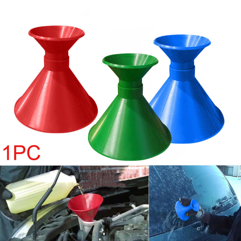 Car Windshield Ice Scraper Cone Shaped Outdoor Funnel Remover Snow Accessorie