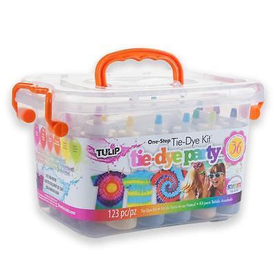 Pool Party Tie Dye Kit Big Party Box Tulip NEW craft activity tye die kid family (Tye Die Kit)