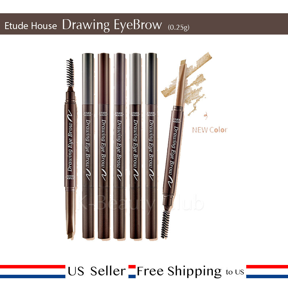 Etude House Drawing Eye Brow 0.25g Tattoo Pen Pencil Marker