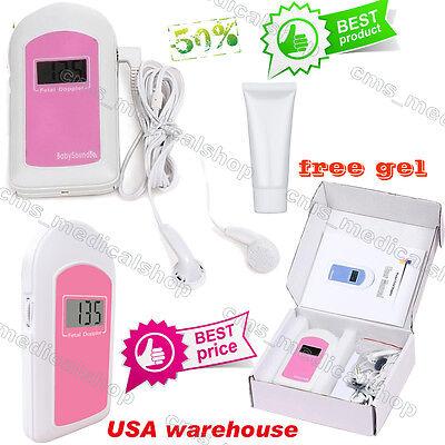 Fetal Doppler Prenatal Heart Rate Baby Monitor Prenatal Heart Monitors.gel