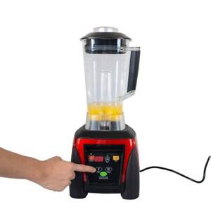 UL Certificated 110V Computerized Fruiut Smoothie Blender Juice Mixer 025178