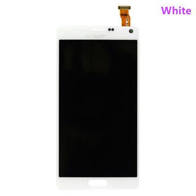 Sbi Fr Samsung Galaxy Note 4 N910a N910 Lcd Display Digitizer Touch Screen White