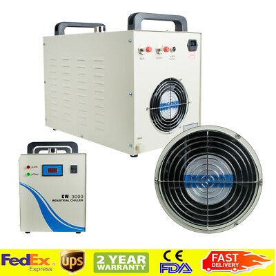 Pro Industrial Water Chiller Cw-3000 For Cnc Laser Engraving Machine Ups